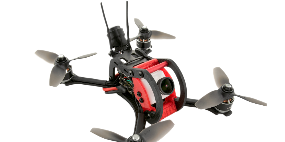 QAV-CODERED Mini FPV Quadcopter